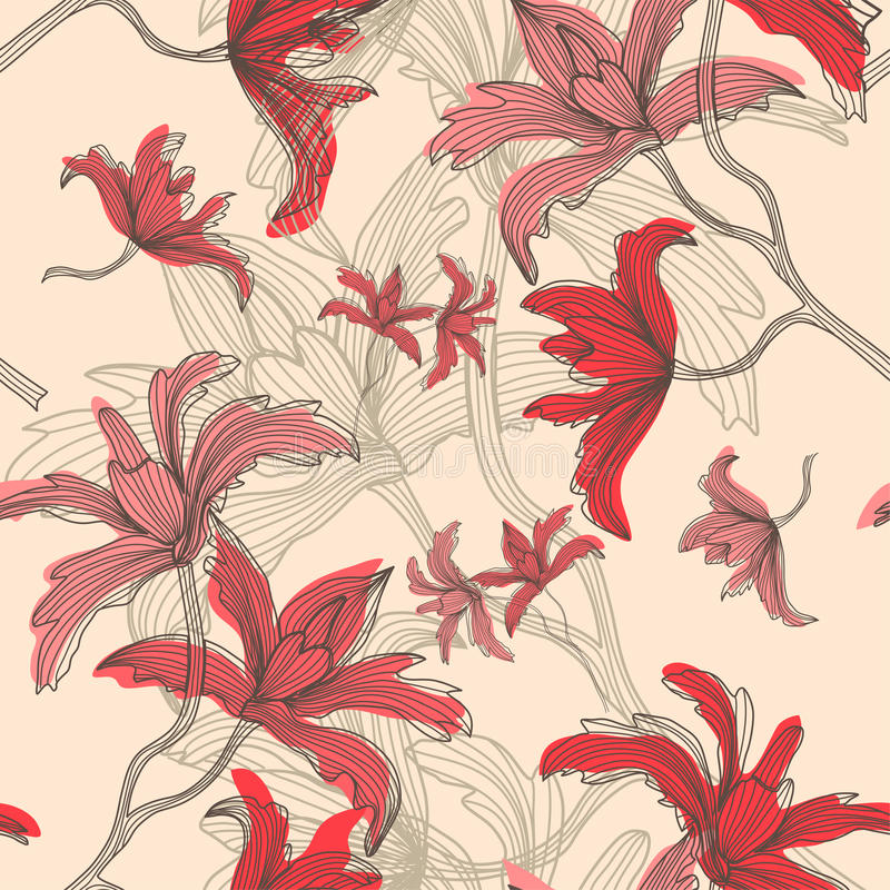 Download Seamless pattern stock vector. Image of seamless, print - 30880181