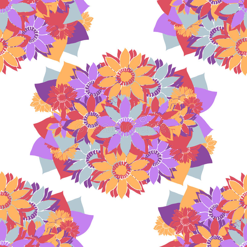Download Seamless pattern stock vector. Image of illustration - 43598517
