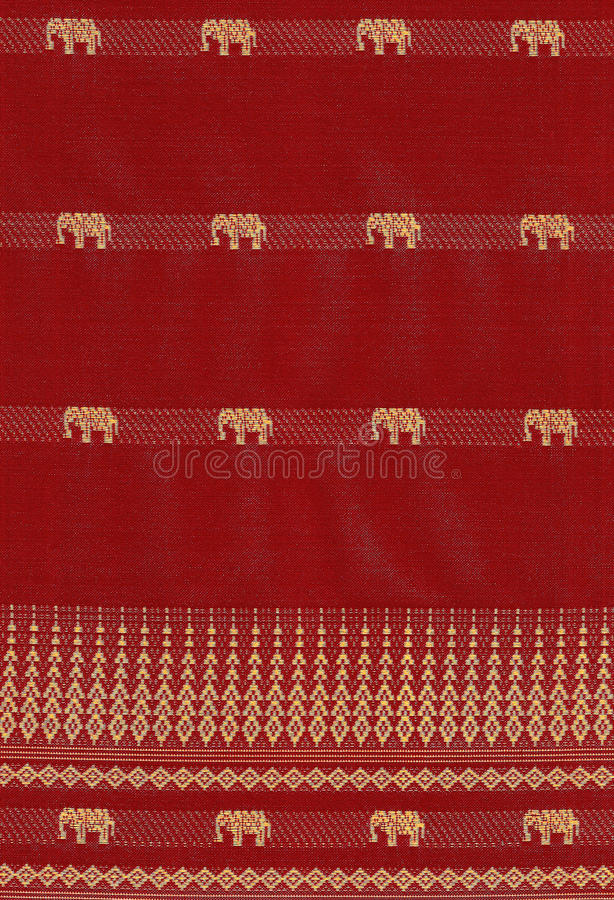 Seamless pattern with elephant stock photo