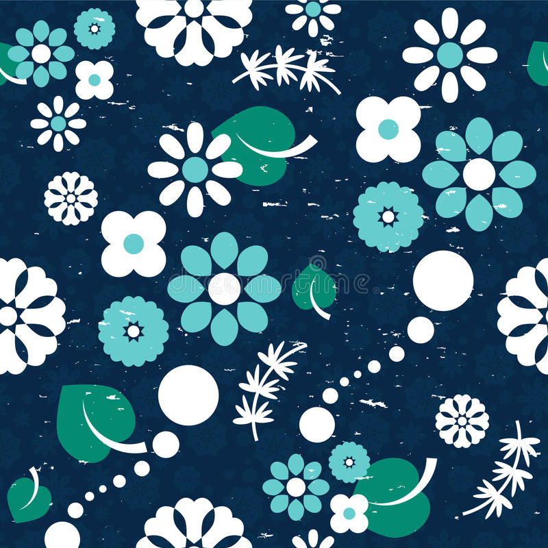 Download Seamless Pattern With Flowers Stock Vector - Illustration: 28537805