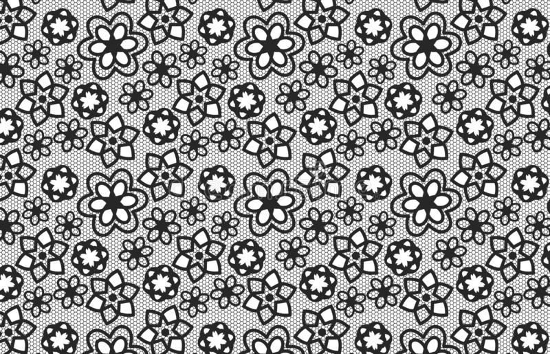 Seamless pattern with flowers background. Design, fabric, fashion, shirt, skirt, dress, wrapping, repeat, concept, blanket, creative, leaf, plant, blossom royalty free illustration