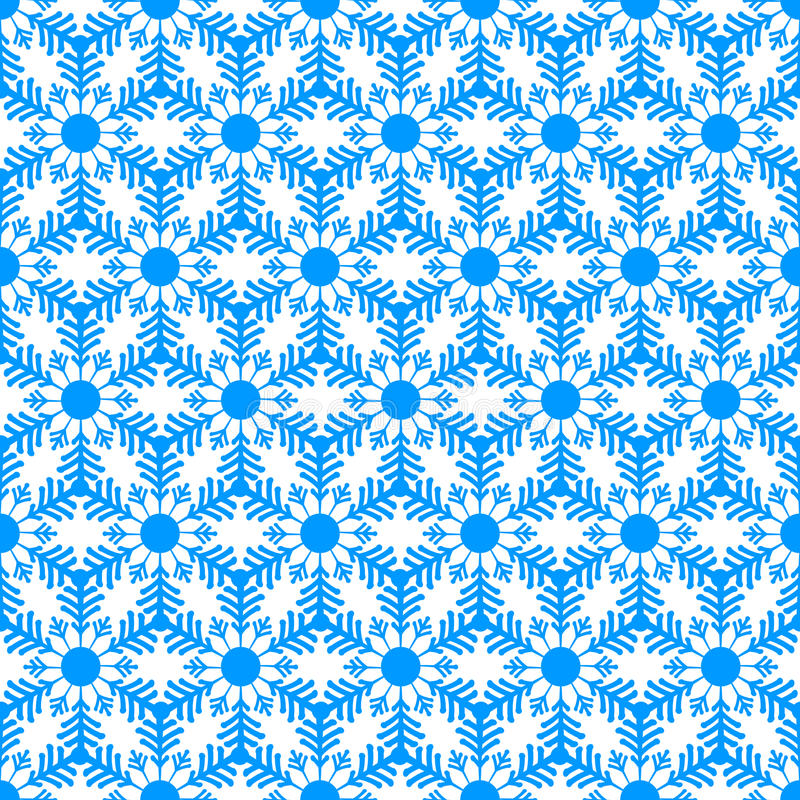 Free Seamless Pattern From Snowflakes.Winter Background. Christmas Template Royalty Free Stock Photography - 61674477