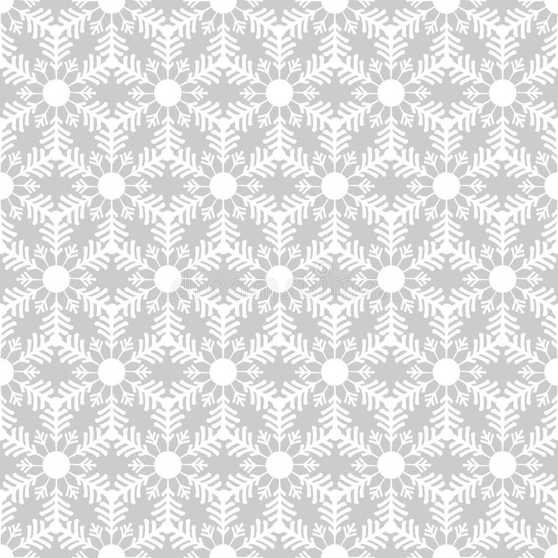 Free Seamless Pattern From Snowflakes.Winter Background. Christmas Template Royalty Free Stock Photography - 61674507