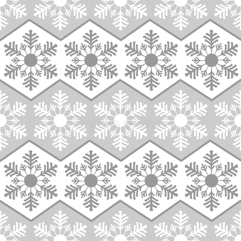 Free Seamless Pattern From Snowflakes.Winter Background. Christmas Template Stock Images - 61674694