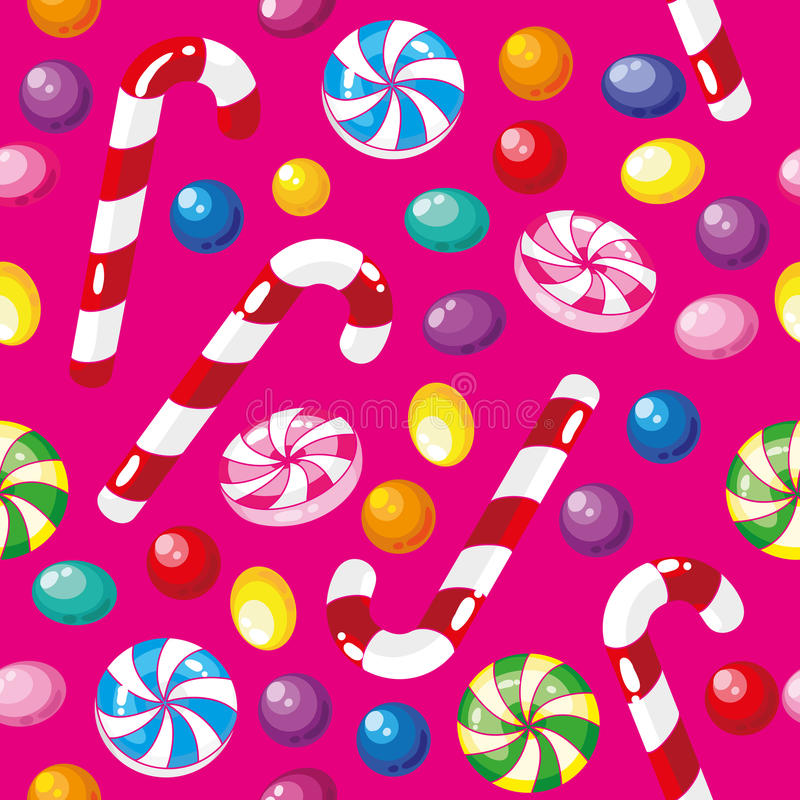 Download Seamless Pattern Funny Candies Stock Vector - Image: 18702917