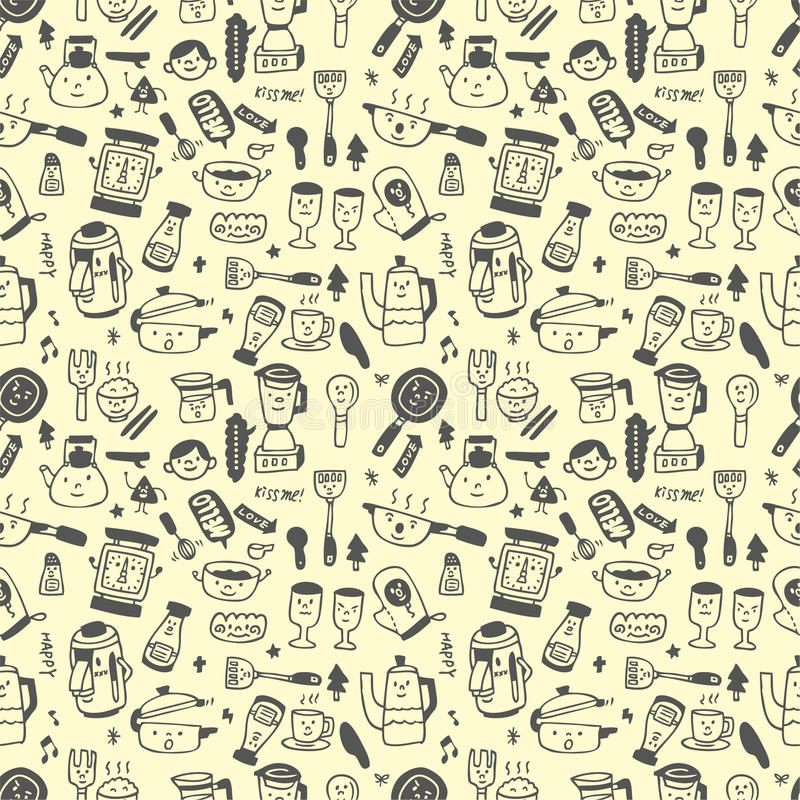 Download Seamless Pattern Funny Cartoon Stock Vector - Image: 16794244