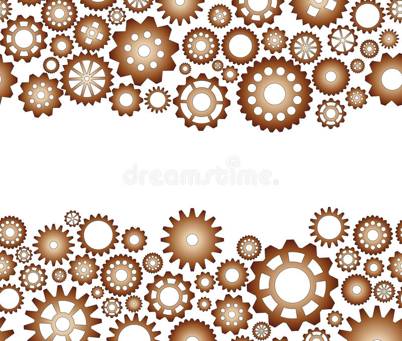 Download Seamless pattern gear stock vector. Image of abstract - 28794147