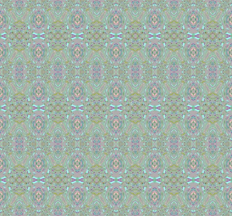 Seamless pattern green red vector illustration