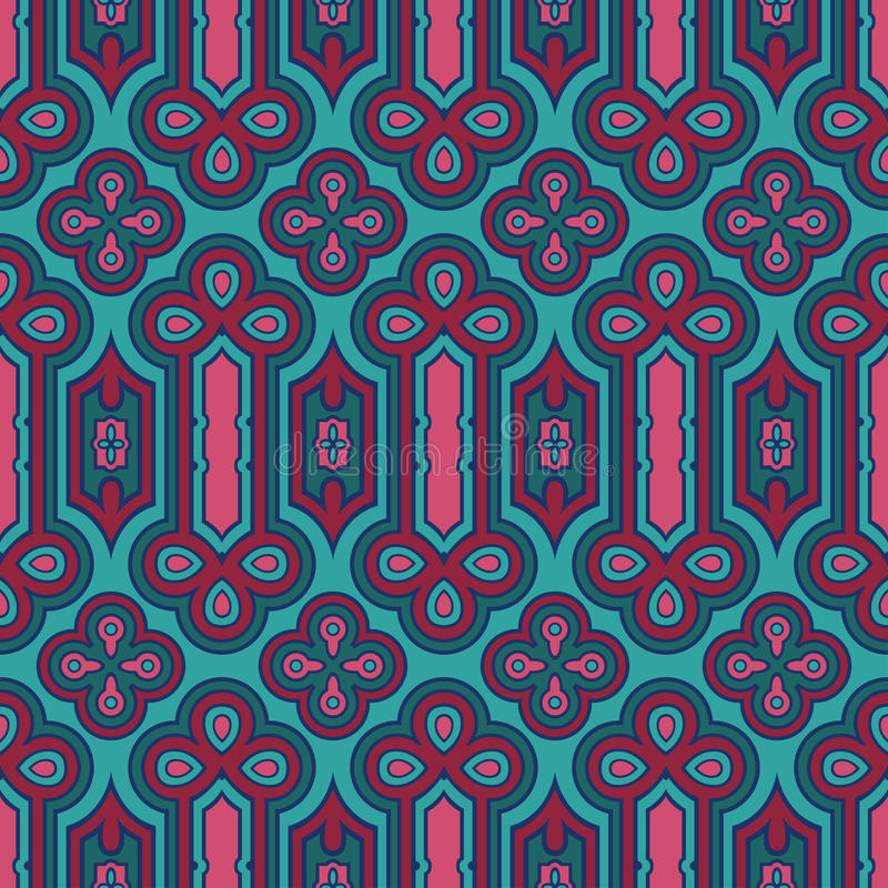 Seamless pattern stock illustration