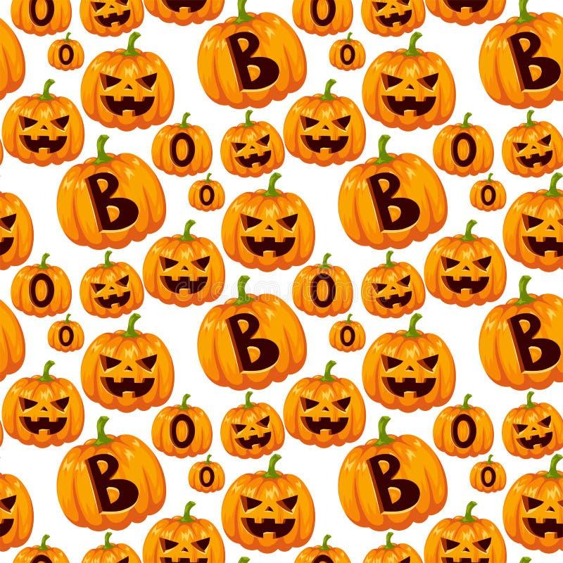 Seamless pattern with halloween pumpkins thanksgiving autumn vector illustration vegetable background. vector illustration