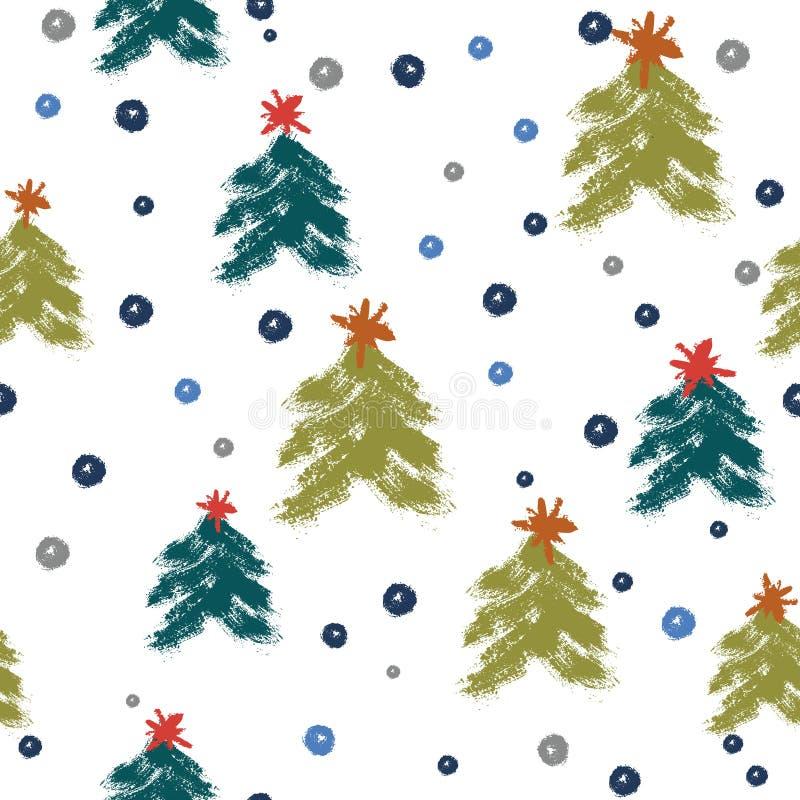 Blue And Green Christmas Tree: Christmas Tree Holiday Grunge Paint Splatter Stock