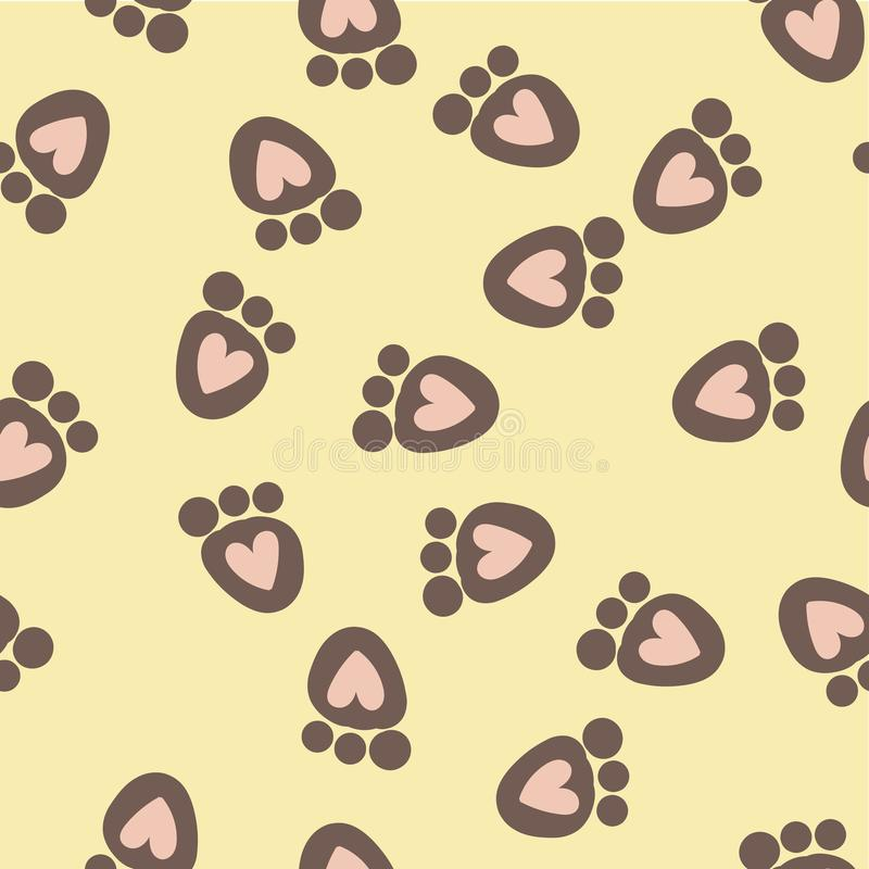 Seamless pattern for Happy Valentine Day, Vector.  stock illustration