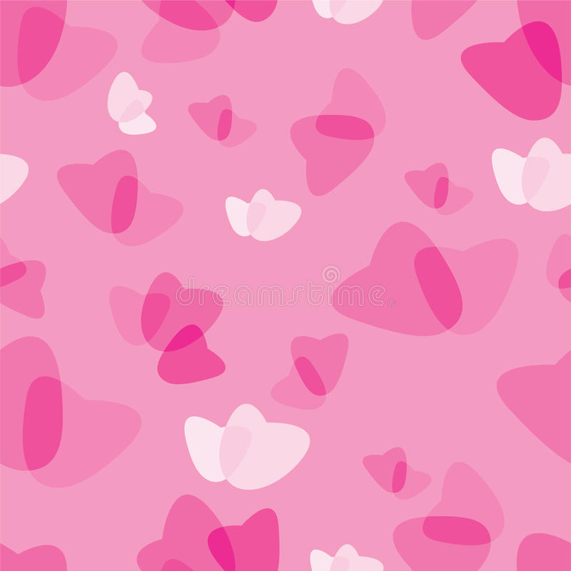 Download Seamless Pattern From Hearts Stock Vector - Image: 11812116