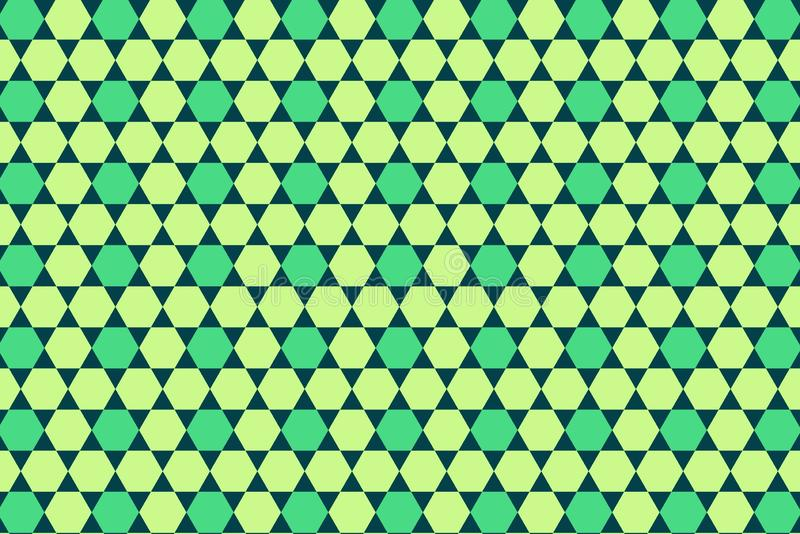 Seamless pattern of the hexagonal net . royalty free stock image