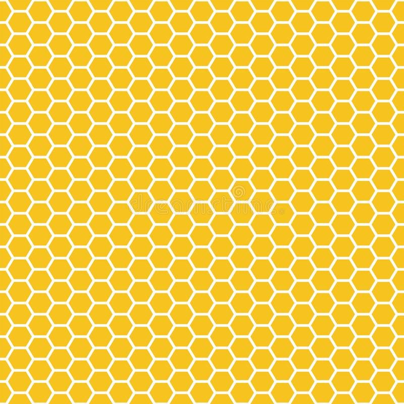 Free Seamless Pattern. Honeycomb. Grid Texture. Vector Illustration. Scrapbook, Gift Wrapping Paper, Textiles. Abstract Yellow Simple Stock Photo - 154381900