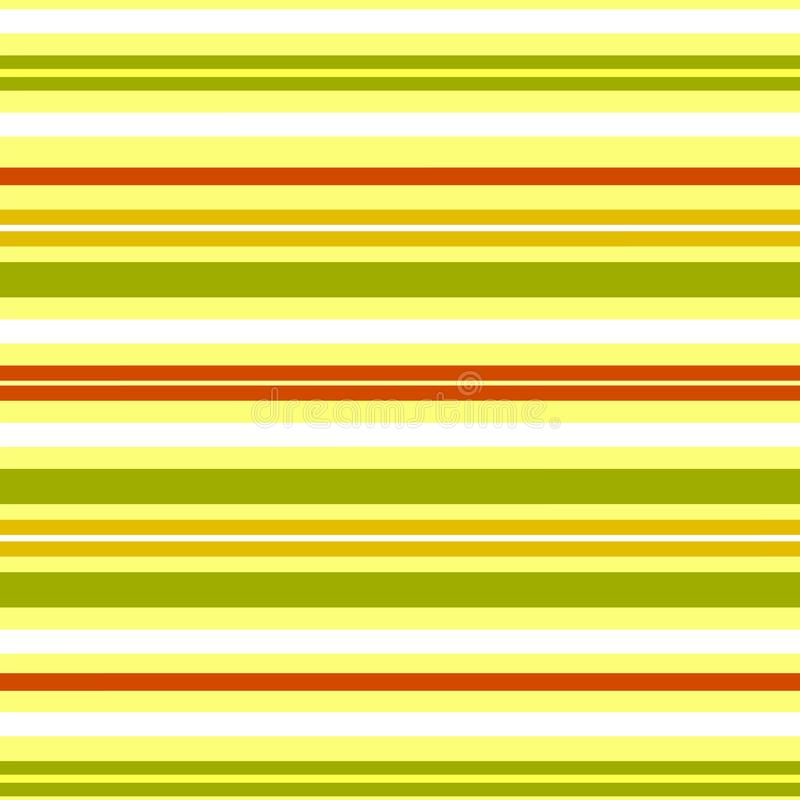 Seamless pattern of horizontal lines stripes in retro style Design of wallpaper wrapping paper textiles Striped pattern royalty free illustration