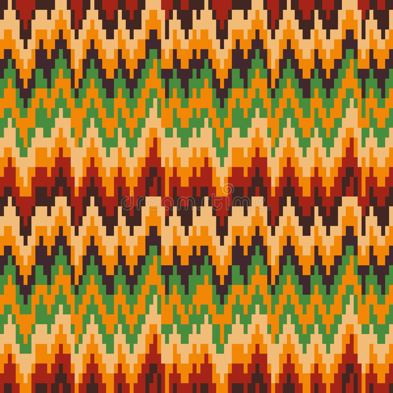 Free Seamless Pattern In Christmas Colors. Royalty Free Stock Images - 47005889