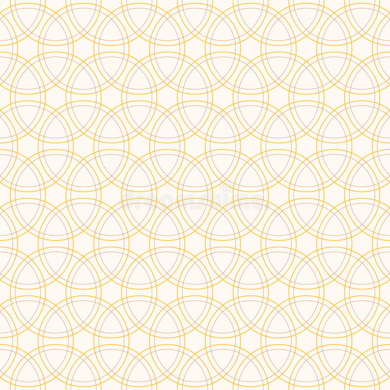 Seamless pattern with intersecting circles. vector illustration