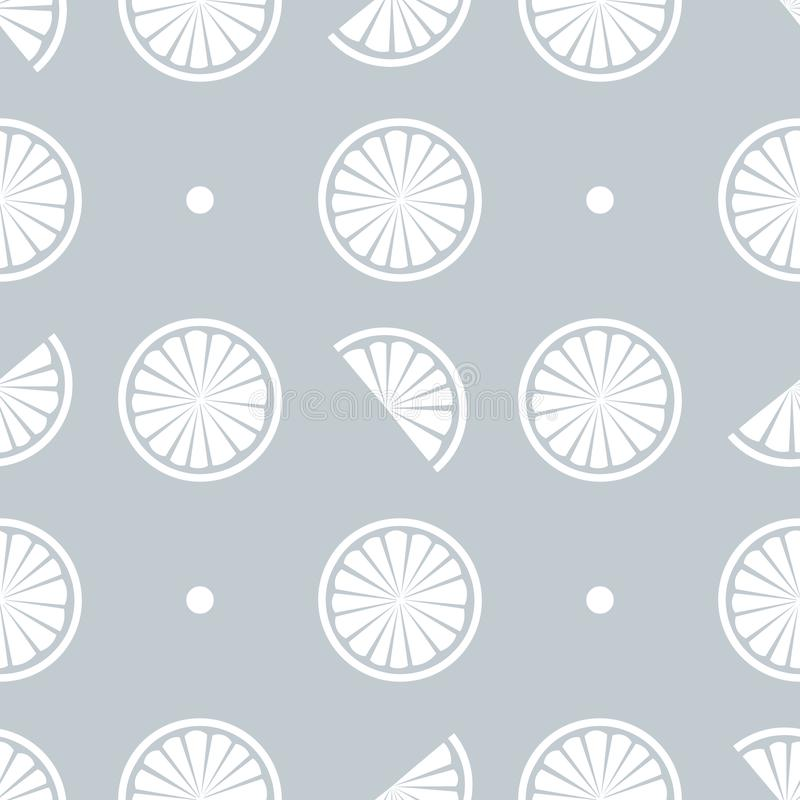 Seamless pattern with juicy slice vector illustration background. 10 eps vector illustration
