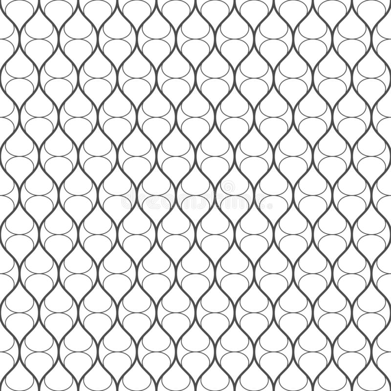 Seamless pattern of lines. Geometric stripe background. vector illustration