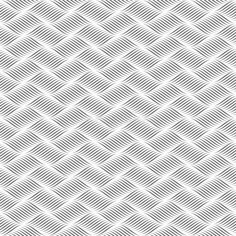 Seamless pattern of lines. Geometric striped background. vector illustration