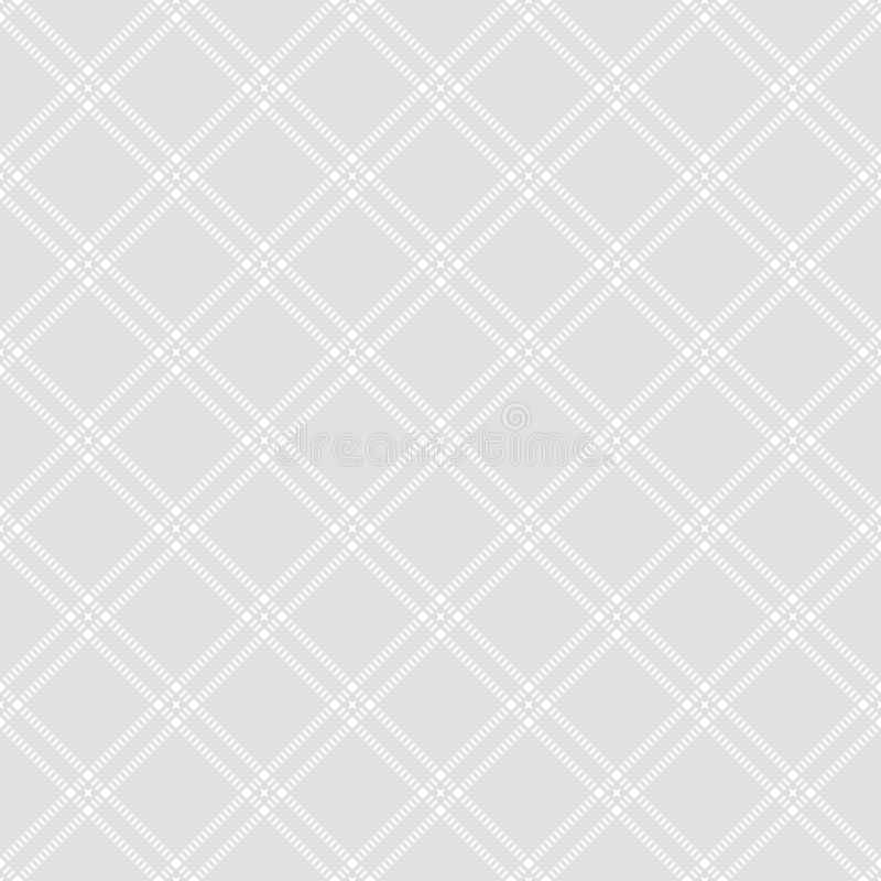 Seamless pattern of lines and rhombuses. Geometric striped background. royalty free illustration