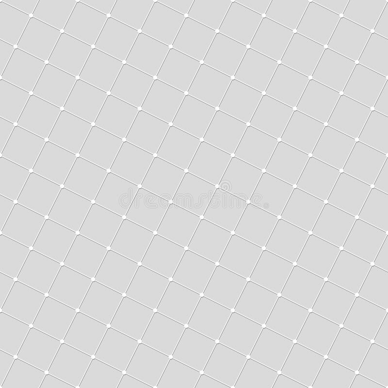 Seamless pattern of lines squares and dots. Geometric wallpaper. royalty free illustration