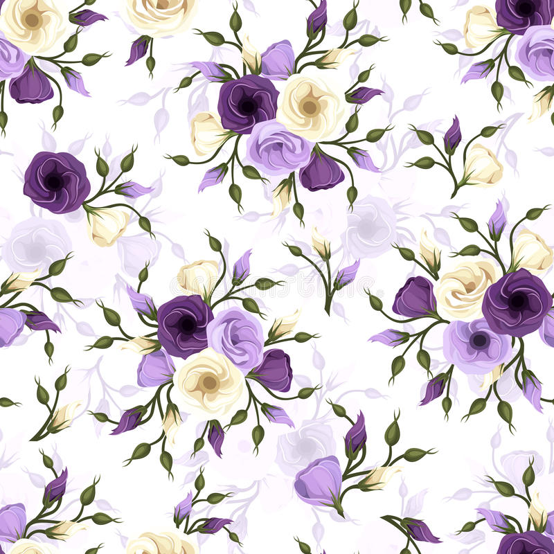 Seamless pattern with lisianthus flowers stock vector download seamless pattern with lisianthus flowers stock vector illustration of eustoma bloom thecheapjerseys Choice Image