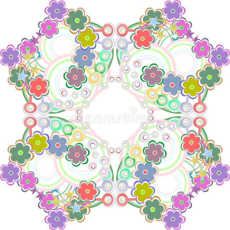 Download Seamless Pattern With Many Colorful Flowers - Stock Vector - Illustration: 25870815