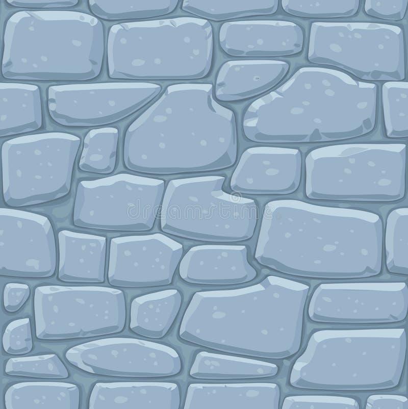 Seamless pattern of masonry stock illustration