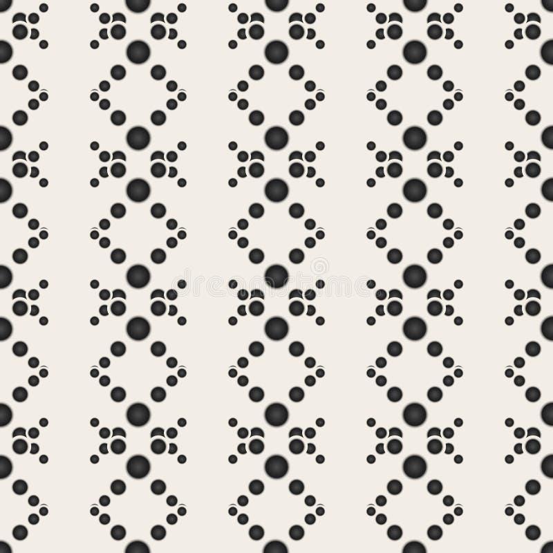 Seamless pattern. Modern stylish texture. Repeating circles. Seamless pattern. Modern stylish texture. Repeating circles, beautiful illustration vector illustration