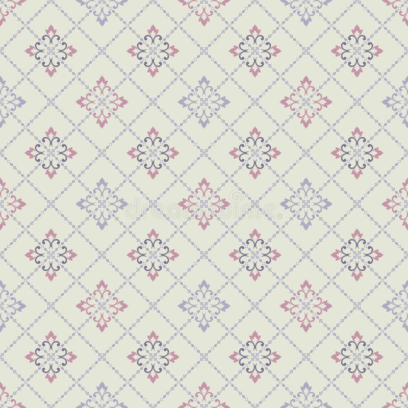 Seamless pattern in Moroccan style. Mosaic tile. Islamic traditional ornament. vector illustration