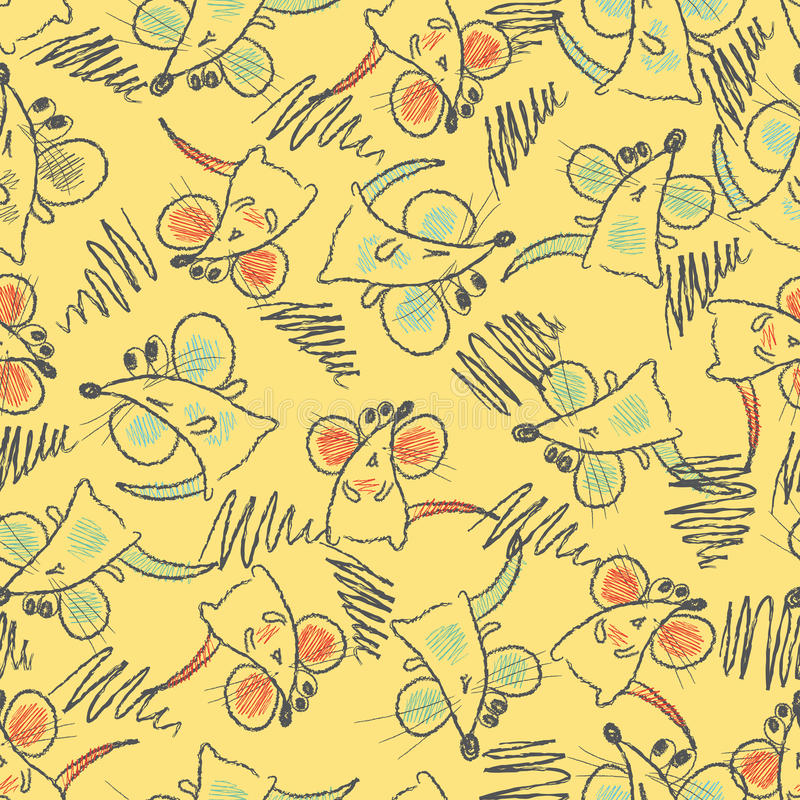Download Seamless Pattern - Mouse Royalty Free Stock Photos - Image: 19261658