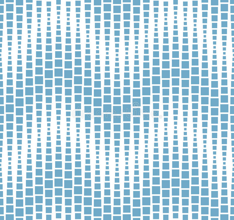 Free Seamless Pattern On White Background. Has The Shape Of A Wave. Consists Of Geometric Elements In Blue. Royalty Free Stock Photo - 56798395