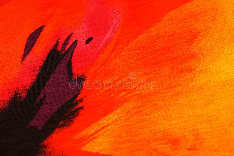 Seamless pattern of a part of flowers bright abstract print. Textile Design. stock photos
