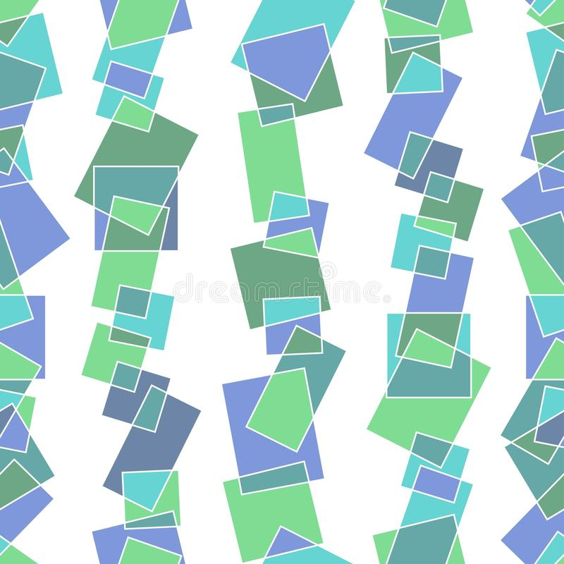 Seamless Pattern With Pieces Of Glass Royalty Free Stock Photo