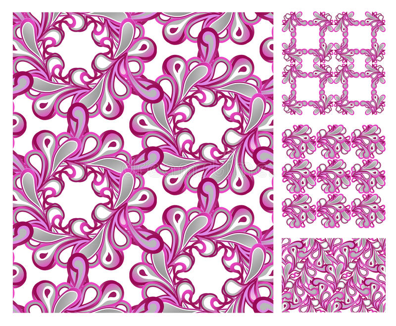 Download Seamless Pattern - Pink Tiles Stock Vector - Image: 15719080