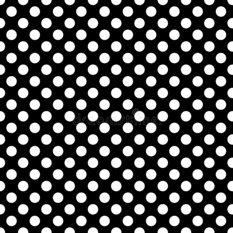 Seamless pattern pois, dot, pattern, background, black, grid, white, seamless, pois, print, repeating, clothing, design vector illustration