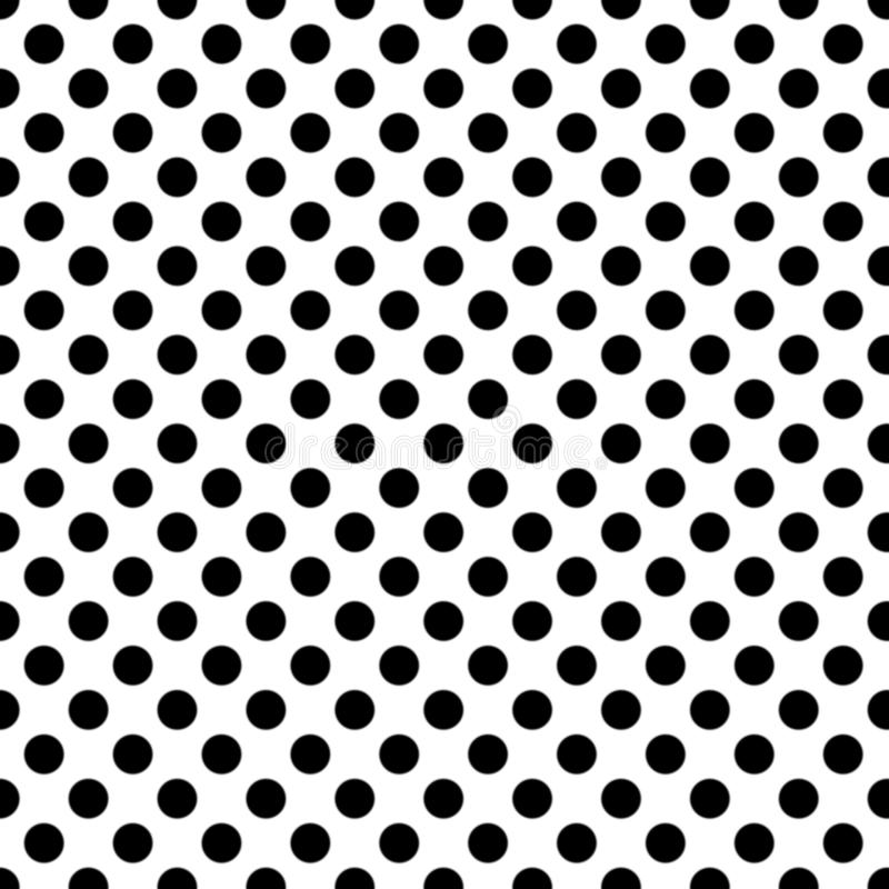 Seamless pattern pois, dot, pattern, background, black, grid, white, seamless, pois, print, repeating, clothing, design royalty free illustration