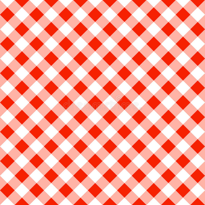 Perfect Download Seamless Pattern Of A Red White Plaid Tablecloth Stock Vector    Illustration Of Linen,