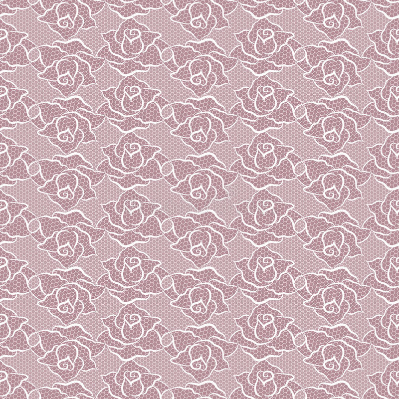 Seamless pattern with roses. Vector illustration. stock photography