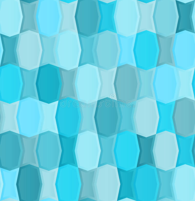 Seamless Pattern Seems Of The Two Types Of Tiles Stock Vector ...