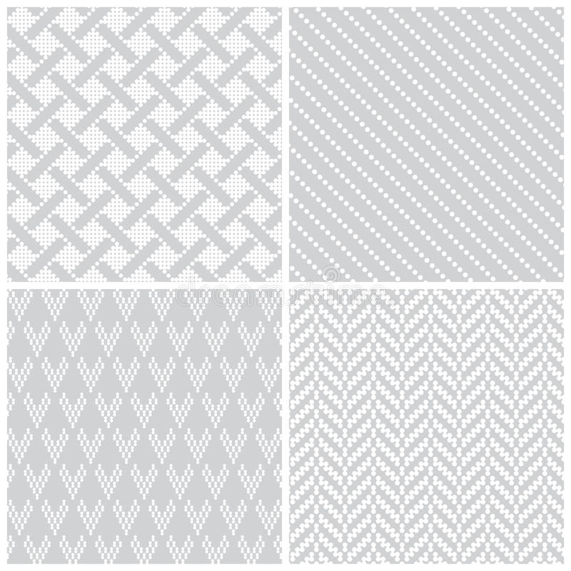 seamless pattern set35 stock vector  illustration of