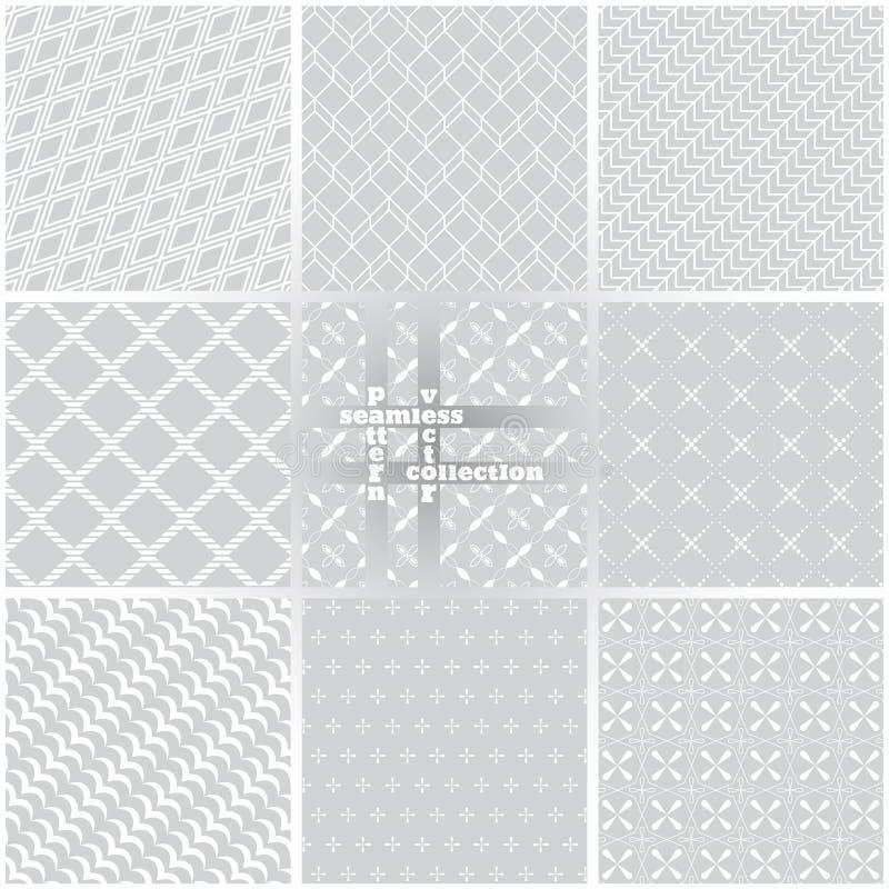 Seamless pattern set60 vector illustration
