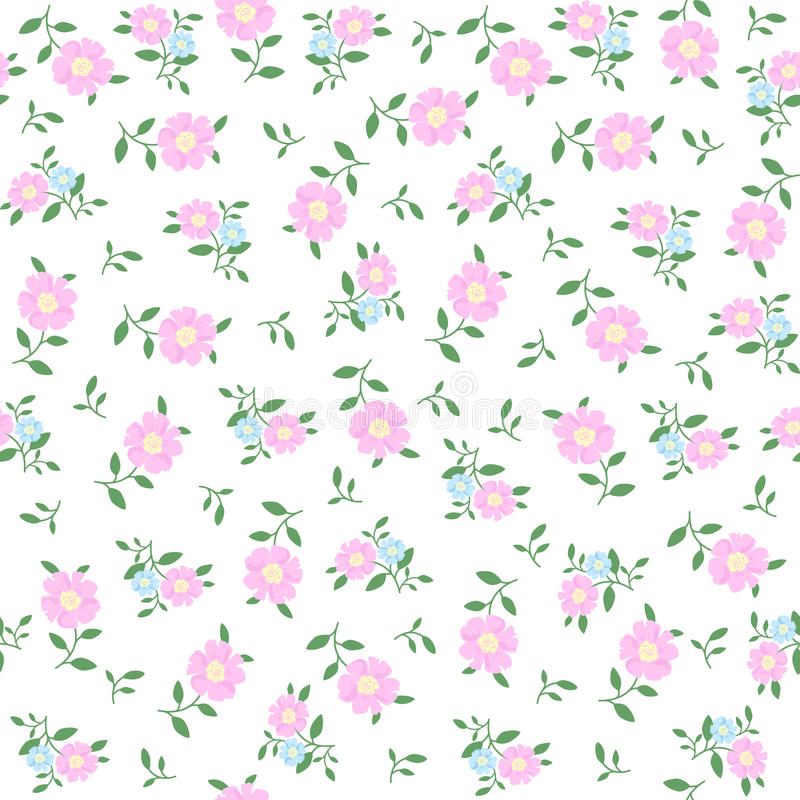 2015 Ditsy Floral Design: Seamless Pattern In Small Flower. Romantic Flower Print