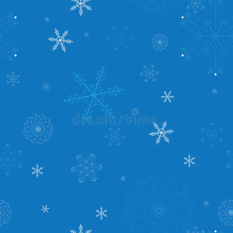 Download Seamless Pattern With Snowflakes Stock Vector - Image: 6696451