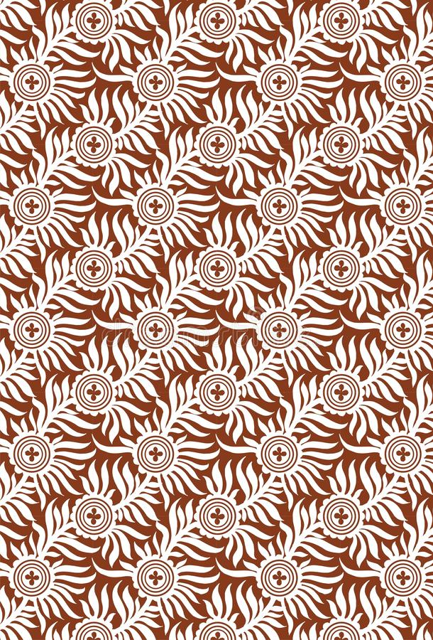 Seamless pattern with spots. Repeating texture with abstract blotches. Textile Indian ornament pattern art design Seamless Paisley beautiful Pattern Indian stock illustration