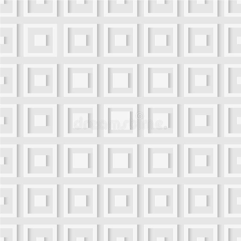 Seamless pattern of squares. Geometric wallpaper. Soft background vector illustration