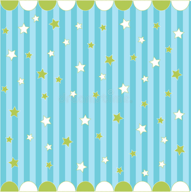 Download Seamless Pattern With Stars Stock Vector - Image: 17962107