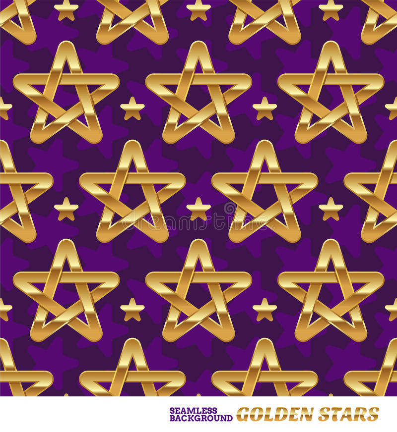 Download Seamless Pattern With Stars Stock Vector - Image: 26687208